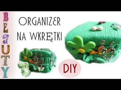 DIY: Jak zrobić organizer na kolczyki wkrętki. Jewerly Organizer