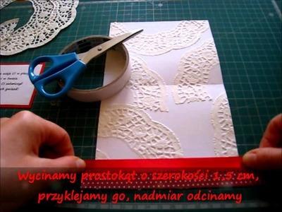 Zobacz jak w łatwy sposób można samemu zrobić kartkę z motylami. Cards with butterflies - tutorial.