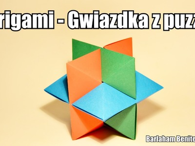 Origami - Gwiazdka z puzzli