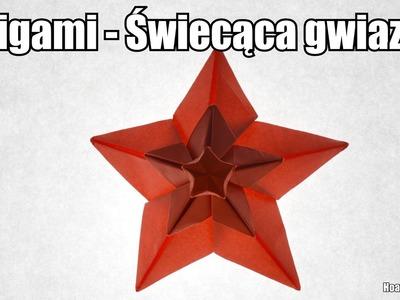 Origami - Świecąca gwiazdka