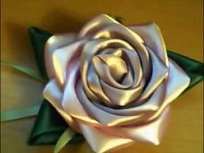 Jak zrobić różę z wstążki