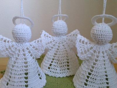 Jak zrobić anioła 3D szydełkiem