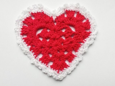 Serce na szydełku, jak zrobić serce Karolina Szydełko