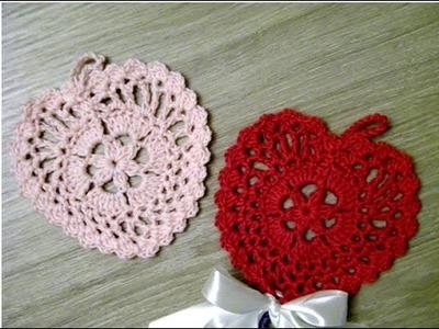 No 108# Serce na szydełku nr 4 - Simply crochet heart nr 4