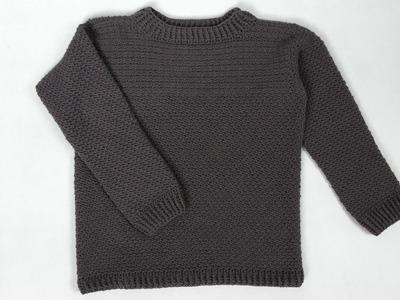 Sweter męski na szydełku 2.3 Crocheting 4K