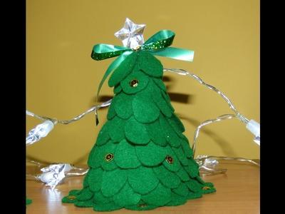 Choinka Świąteczna z filcu