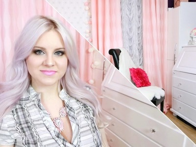 DIY - Metamorfoza mojego pokoju * Tworzę własny Makeup Room * Candymona