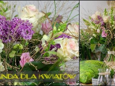 Sekunda dla Kwiatów - bukiet na szczególną okazję S04 E08 (floristic diy: big bouquet)