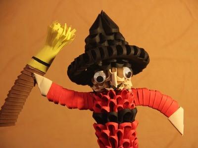#25 Czarownica - Origami modułowe