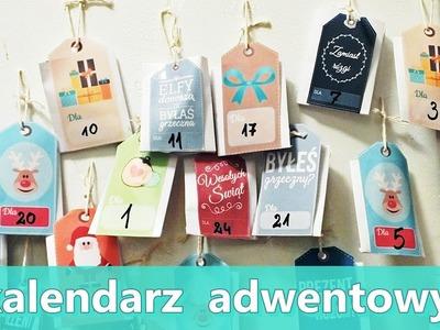 DIY | ZDROWY kalendarz ADWENTOWY | WITARIAŃSKI |bez kleju na gorąco!