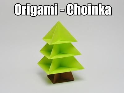 Origami - Choinka