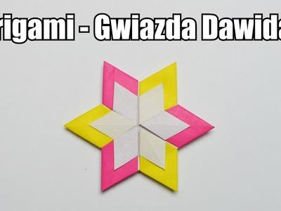Origami - Gwiazda Dawida 2