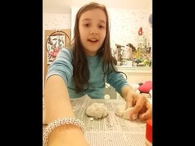 Diy☺ Jak zrobić masę plastyczną ( plasteline) Mój przepis!☺