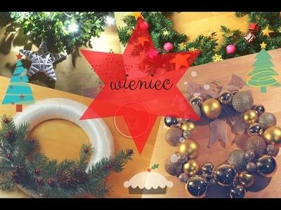 ❄❄❄ DIY: wieniec świąteczny  ❄❄❄