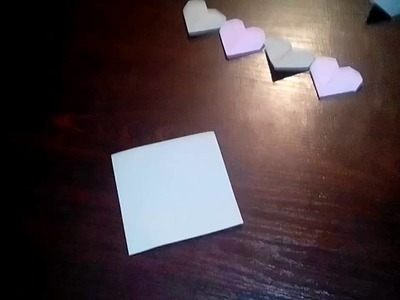 Origami serce