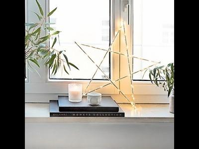 Świecąca gwiazdka | WESTWING DIY