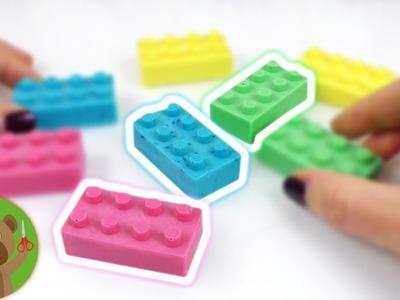DIY Inspiration | wyzwanie #88 | mydło w kształcie klocków lego | pomysł na niedzielę