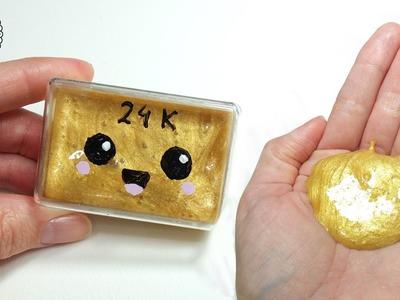 DIY Mini Płynne Złoto Glutek! Jak zrobić złotego gluta?