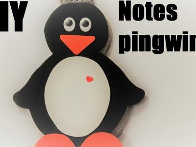★ DIY: Notes pingwinek ★