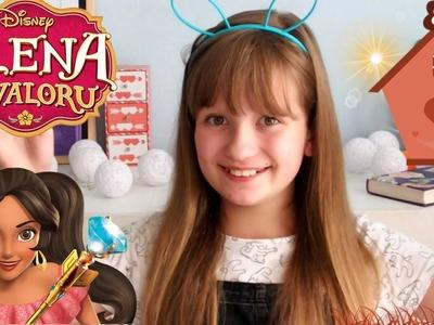 ELENA Z AVALORU w Disney Channel #ŚwiećPrzykładem DIY karmnik ❤ CookieMint