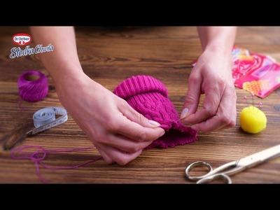 Dr. Oetker Słodka Chwila Rozgrzewająca sweterek na kubek Do It Yourself.DIY