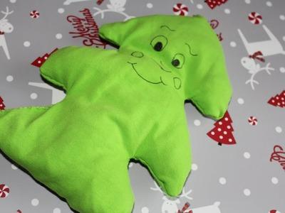 DIY#15 świąteczna zabawka w kształcie choinki dla psa lub innych zwierzaków