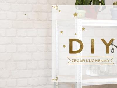 Nowoczesny zegar kuchenny | WESTWING DIY