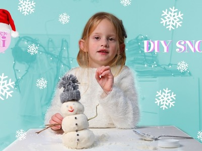 ❄️ SZTUCZNY ŚNIEG! ❄️ Zrób to sam! #05 ❄️ DIY SNOW! ❄️