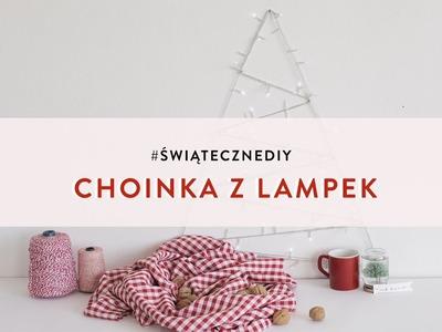 Choinka z lampek   WESTWING DIY