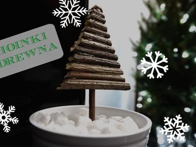 DIY Drewniane choinki | DzienBezKawyTV