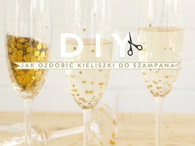 Jak ozdobić kieliszki do szampana | WESTWING DIY