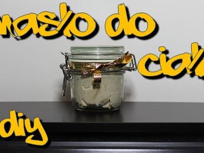 Ubijane masło do ciała - pomysł na prezent diy - vlogmas || SunshineNaska