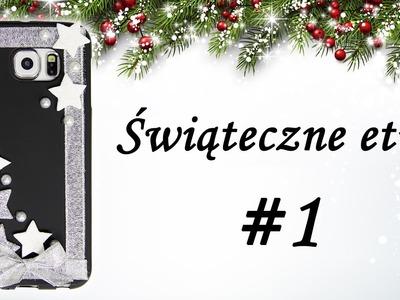 Zobacz jak własnoręcznie wykonać świąteczne etui na telefon #1 DIY Case iPhone, Samsung, Huawei