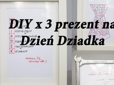 DIY prezent na Dzień Dziadka #dzieńdziadka #diy 3 sposoby na ramkę dla dziadka