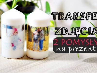 DIY | Transfer zdjęcia, pomysł na prezent na dzień babci i dziadka | Zaradni Rodzice