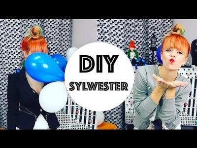 DIY - Zrób to Sam - spódnica z firanki - Sylwestrowy look