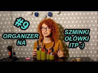 Ozdoby #9 Ekspozytor. organizer na kosmetyki. ołówki. Lipstick and pencil organizer