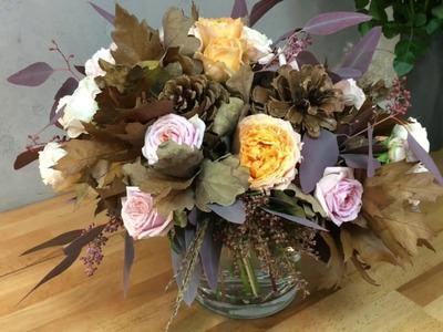 Sekunda dla Kwiatów - bukiet jesienny (floristic diy: autumn bouquet) S04 E01