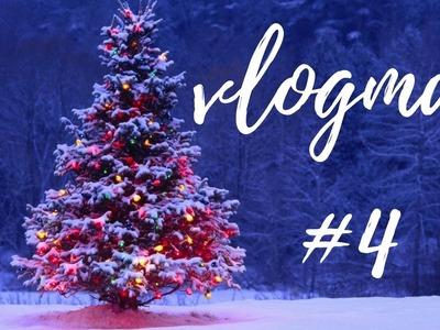 Vlogmas #4: Pierwsze ozdoby świąteczne (papierowe choinki)