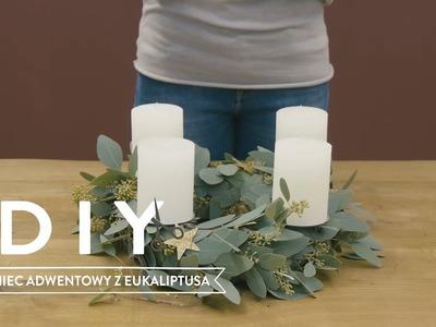 Wieniec adwentowy z eukaliptusa | WESTWING DIY