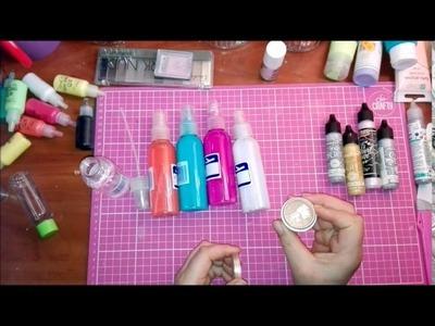 Diy :)  mgiełki i farbki w sprayu :D