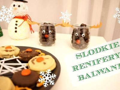 DIY Renifery i Bałwanki na słodko | Sweet reindeer and snowmen | DzienBezKawyTV