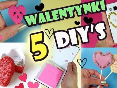 5 DIY na Walentynki Pomysły na Prezenty i Słodycze!