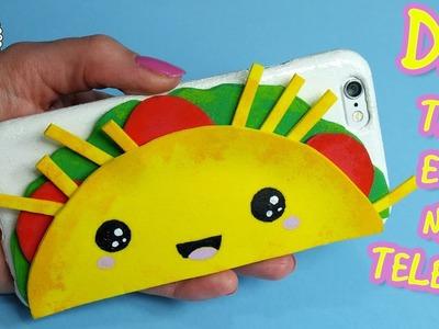 DIY TACO ETUI NA TELEFON! Pomysł na słodkie etui w stylu kawaii