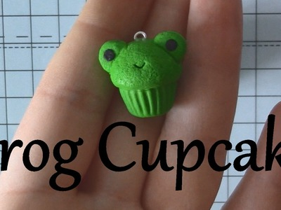 Frog Cupcake Polymer Clay Tutorial