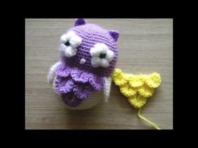 No 129# Łuska krokodyla na szydełku - How to crochet crocodile stitch