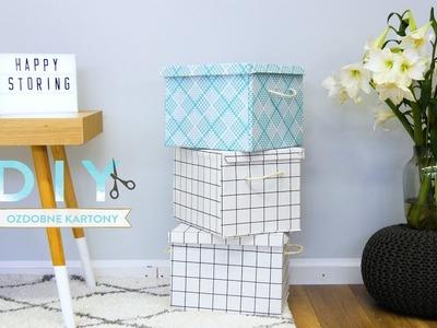Ozdobne kartony | WESTWING DIY