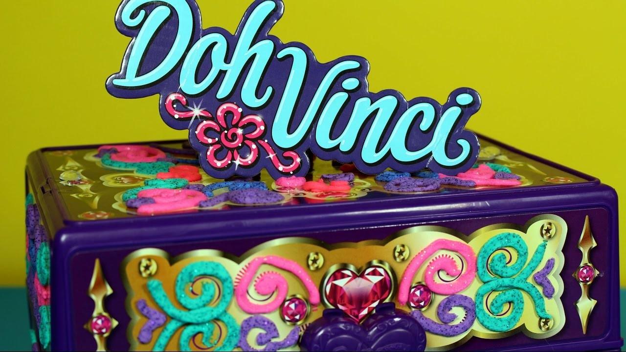 Szkatułka - Doh Vinci - Zrób to sam - DIY