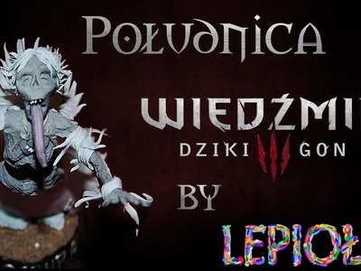 TUTORIAL Moonwraith The Witcher 3 Polymer clay made hand lepiołki