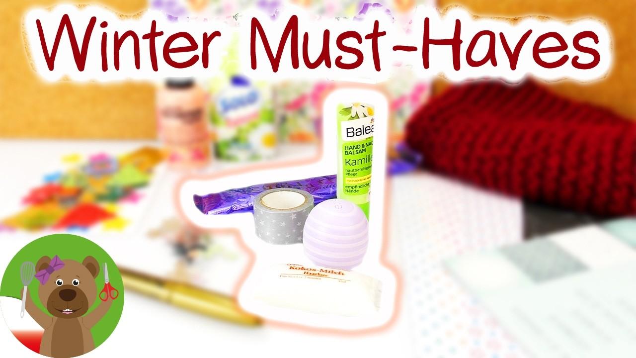 DIY Inspiration Challenge #89 Winter Must Haves | zimowy niezbędnik | kosmetyki na zimę